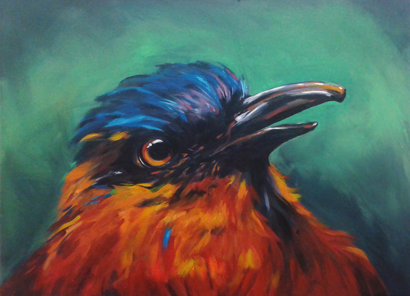 """Tropical Bird"" 2015"