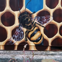 Beehive Shipping Container Detail 1