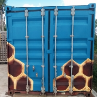 Beehive Shipping Container Side